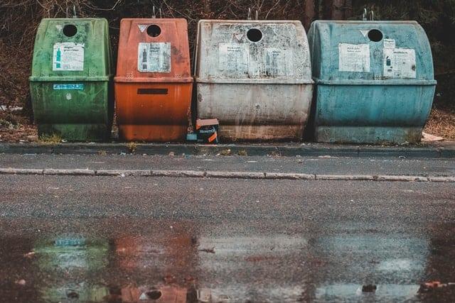 Germany waste separation bins